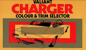 1971 chrysler valiant vh charger colour chart brochure