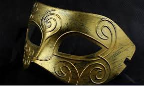 masquerade masks wholesale greece and warriors men masquerade masks for party gold