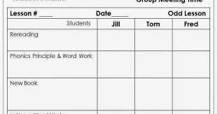lesson plan template for reading intervention 28 templates