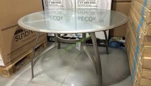 Kirklands Bistro Table Sunvilla Micro Mesh Commercial Bistro Table U2013 Costcochaser