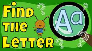 letter game find the letter a the singing walrus youtube