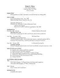 Sample Chef Resume by Resume For Cook Assistant Resume For Your Job Application