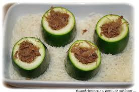 cuisiner la courgette ronde courgettes rondes farcies au confit de canard quand choupette et