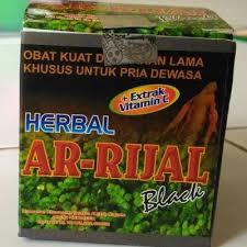 obat kuat herbal alami ar rijal black 100 original