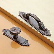 vintage cabinet door knobs dresser knob pull drawer knobs pulls handles back plate antique