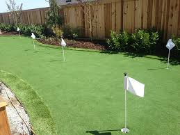 Small Backyard Putting Green Fake Grass Carpet Indian Springs Texas Putting Green Grass