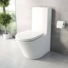 mode tate bathroom suite with left handed shower bath and white