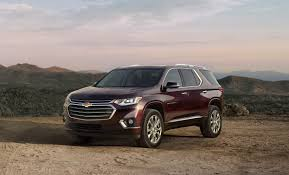 chevrolet just trucked up the traverse finally giving it a shape