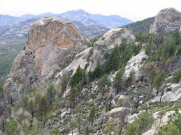 mt lemmon hiking trails map mt lemmon climbing hiking mountaineering summitpost