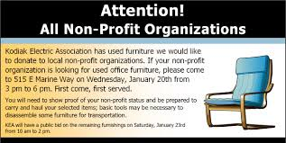 Donate Used Furniture by Kodiak Electric Association What U0027s New With Kodiak Electric