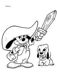 Mickey Mouse In The Rain Coloring Pages Hellokids Com Mickey Mouse Coloring Pages