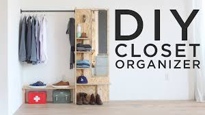 Closets Organizers Diy Closet Organizer Youtube