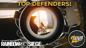 top siege auto best defending operators rainbow six siege