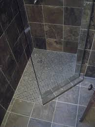 Small Shower Door Elegance And Drama For A Small Shower Minnesota Regrout And Tile
