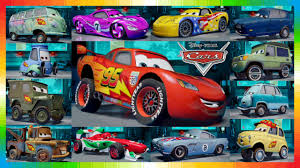 all the cars cars 2 characters all cars from the cars from disney