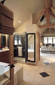 Master Suite Bathroom Ideas Interesting Master Bedroom With Open Bathroom Inside Design