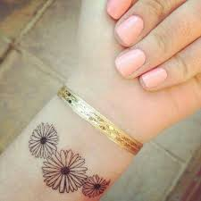 25 beautiful small flower tattoos ideas on pinterest delicate