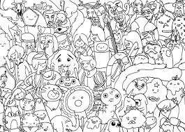 printable adventure time coloring pages coloring page blog