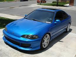 tuner honda civic honda civic 1995 coupe tuning