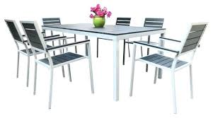 Aluminum Patio Dining Set Aluminum Dining Table Elkar Club