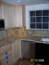 Kitchen Countertops And Backsplash Pictures Yellow River Granite Backsplash New House Ideas Pinterest