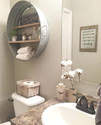 idea for bathroom decor small country bathroom ideas mesmerizing best rustic decor on half