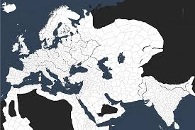 Map Of Middle East Blank by Is There A Blank Map With The Ck2 Provinces Crusaderkings