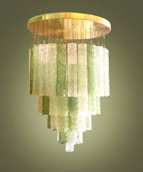 blown glass ceiling light with unique 15 hand industrial lighting