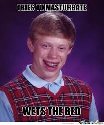 Jamie Meme - bad luck brian strikes again by jamie meme center