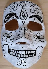 Day Of The Dead Mask Easy Day Of The Dead Dia De Los Muertos Masks 10 Steps