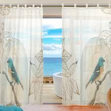 online get cheap bird sheer voile curtains aliexpress com