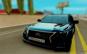 lexus station wagon lexus lx570 for gta san andreas