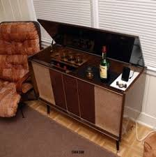 old ice box turned liquor cabinet i have one of these in the