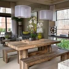 Rustic Modern Dining Room Tables Mesa De Madera Con Beta Decor Decor Pinterest
