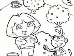 dora unicorn coloring pages free coloring page today takewill com