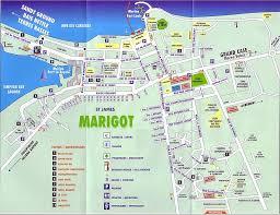 map of st martin st maarten st martin island maps and major towns