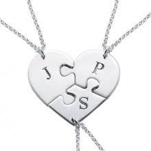 Stamped Initial Necklace Initial Necklace Namenecklacesaler