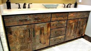 reclaimed wood bathroom wall cabinet reclaimed wood bathroom wall cabinet large size of distressed wood