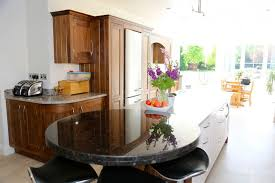 Kitchen Pantry Kitchen Cabinets Breakfast by Outstanding Raised Kitchen Breakfast Bar With Round Shape Black