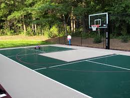 snapsports outdoor basketball courts multi use game courts