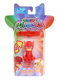 pj masks 3 light figure owlette toys