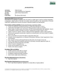 relevant experience resume sample patient access representative resume sample free resume example cover letter enchanting patient service representative resume pertaining to patient service representative resume template