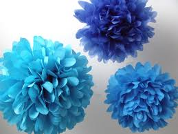 How To Make Birthday Decorations At Home Birthday Party Decorations 3 Small Poms Pick Your