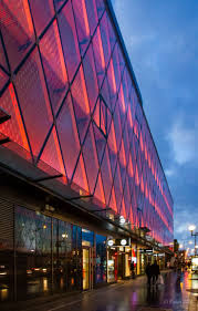 88 best architectural lighting images on pinterest facade beaugrenelle shopping mall s exterior lights change color photo by fonda2013