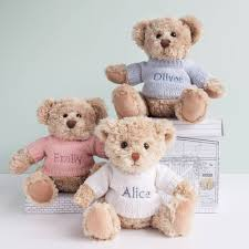 personalised soft toys for babies notonthehighstreet com
