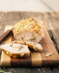 thanksgiving pork loin herb stuffed pork loin the country contessa