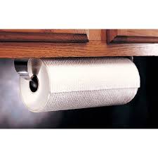 cabinet paper towel holder prodyne stainless steel under cabinet paper towel holder walmart com