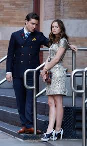 chuck bass went for a classic look in a brooks brothers country