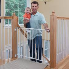 Baby Safety Gates For Stairs Top Of Stairs Metal Gate