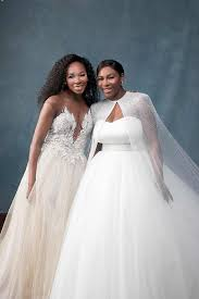 wedding pictures just married from serena williams and ohanian s wedding